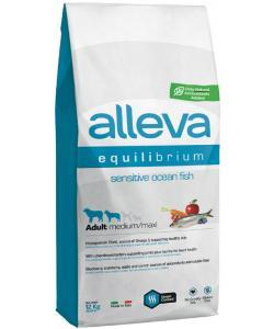 Equilibrium dog сухой корм для взрослых собак (океаническая рыба), Sensitive Ocean Fish Medium/Maxi