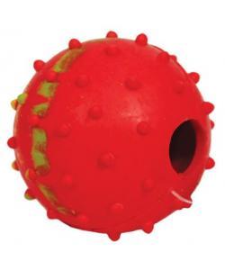 """""""Мяч с колокольчиком"""" для собак, резина, 5см"""