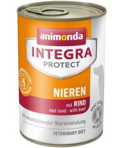 Консервы Integra для взрослых собак при почечной недостаточности с говядиной (Renal)