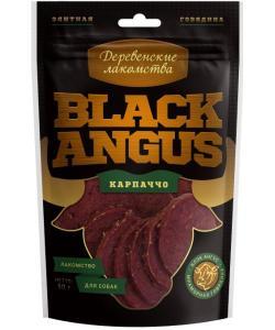 """Вяленые лакомства для собак """"Black angus"""" карпаччо из говядины"""