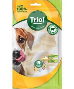 Кость для собак узловая белая, 10см, 3шт.*30-35г (BRH4-3P)