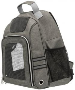 Рюкзак-переноска для животных до 6 кг Dan, 38*26*50см, серый (28850)