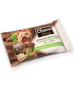 Choco Dog Шоколад молочный с воздушным рисом для собак