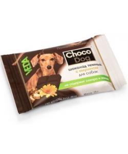 Choco Dog Шоколад темный с инулином для собак