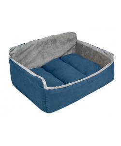 "Лежак-диван ""Самсон"" - бархат синий"
