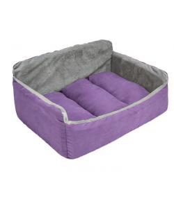 "Лежак-диван ""Самсон"" - бархат фиолетовый"