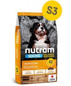 Корм для щенков крупных пород Nutram S3 Sound Large Breed Puppy