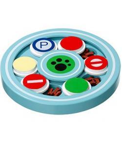 Интерактивная игрушка для собак «Круг» 22 см