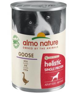 Консервы для собак с чувствительным пищевариением (монобелковый рацион) с гусятиной (Holistic Wet Dog Digestive help - Single Protein - Goose)