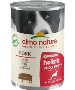 Консервы для собак с чувствительным пищевариением (монобелковый рацион) со свининой (Holistic Wet Dog Digestive help - Single Protein - Pork)