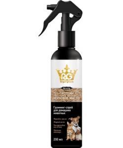 Royal Groom грумминг-спрей с протеином и норковым маслом для собак и кошек