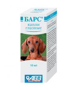 Барс Капли глазные для кошек и собак