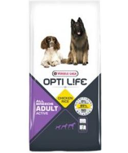 Для активных собак всех пород (с курицей и рисом) Adult Active