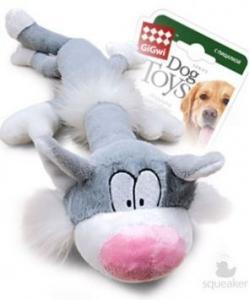 Игрушка для собак Кот с пищалкой, 63 см  (75227)