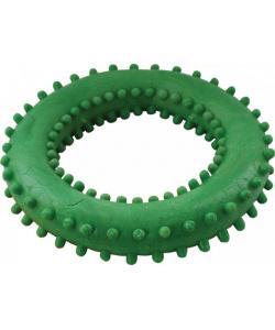 """Игрушка для собак """"Кольцо с шипами №4"""" 10см"""