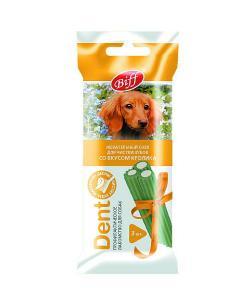 Жевательный снек для собак DENT со вкусом кролика, 3шт (для средних пород)