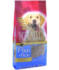 Для взрослых собак: рыбный коктейль, рис и овощи, Adult Fish and Rice