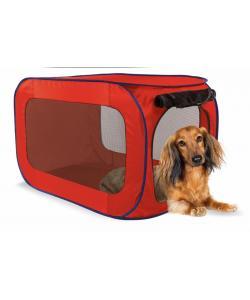 Переносной домик для собак малых пород 66 x 37 x 37 см, полиэстер (Portable dog kennel small) PL0009