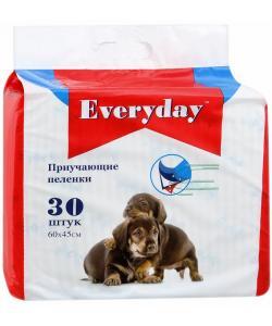 Впитывающие пеленки для животных  ГЕЛЕВЫЕ 60х45см